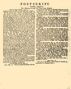 Evening Post, August 07, 1712, Page 3
