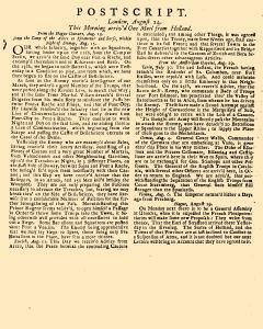 Evening Post, August 12, 1712, Page 3