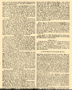 Evening Post, August 14, 1712, Page 2