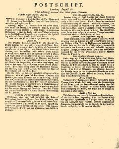 Evening Post, August 14, 1712, Page 3