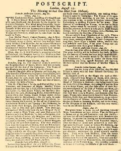 Evening Post, August 16, 1712, Page 3
