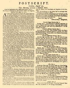 Evening Post, August 28, 1712, Page 3