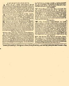 Evening Post, August 30, 1712, Page 3