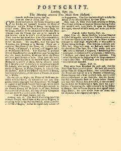 Evening Post, September 11, 1712, Page 3