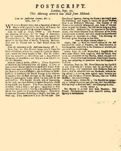 Evening Post, September 27, 1712, Page 3