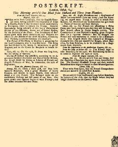 Evening Post, October 11, 1712, Page 3