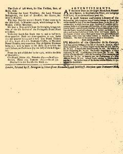 Evening Post, October 14, 1712, Page 3