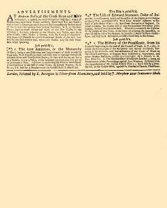 Evening Post, October 25, 1712, Page 3