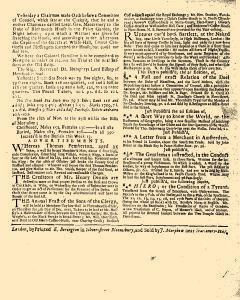 Evening Post, November 25, 1712, Page 3