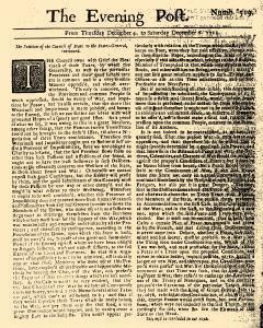 Evening Post, December 04, 1712, Page 1