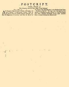 Evening Post, December 27, 1712, Page 4