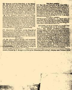 Evening Post, December 30, 1712, Page 3