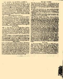 Evening Post, August 16, 1720, Page 3