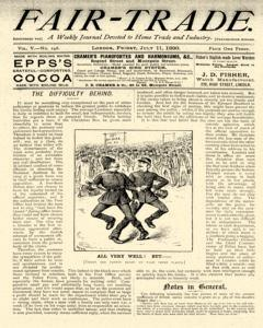Fair Trade, July 11, 1890, Page 1
