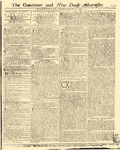 Gazetteer And New Daily Advertiser, January 02, 1765, Page 1