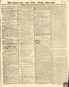 Gazetteer And New Daily Advertiser, January 27, 1766, Page 1