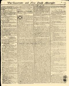 Gazetteer And New Daily Advertiser, January 28, 1766, Page 1