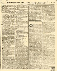 Gazetteer And New Daily Advertiser, January 29, 1766, Page 1