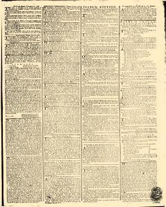 Gazetteer and New Daily Advertiser, February 13, 1766, p. 3