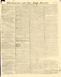 Gazetteer And New Daily Advertiser, March 03, 1766, Page 1