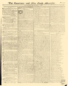 Gazetteer And New Daily Advertiser, March 07, 1766, Page 1