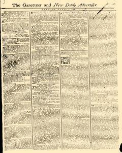 Gazetteer And New Daily Advertiser, April 01, 1766, Page 1