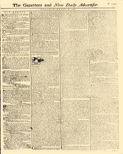 Gazetteer And New Daily Advertiser, April 29, 1766, Page 1