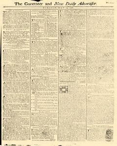 Gazetteer And New Daily Advertiser, May 13, 1766, Page 1