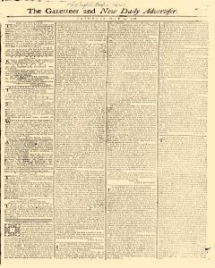 Gazetteer And New Daily Advertiser, May 24, 1766, Page 1
