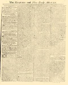 Gazetteer And New Daily Advertiser, May 30, 1766, Page 1