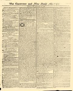 Gazetteer And New Daily Advertiser, June 13, 1766, Page 1