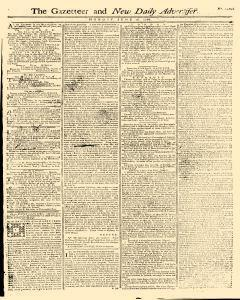 Gazetteer And New Daily Advertiser, June 16, 1766, Page 1