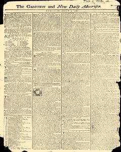 Gazetteer And New Daily Advertiser, July 01, 1766, Page 1