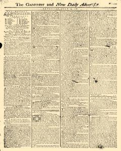 Gazetteer And New Daily Advertiser, July 19, 1766, Page 1