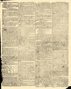 Gazetteer and New Daily Advertiser, August 15, 1766, p. 3