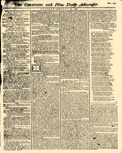 Gazetteer And New Daily Advertiser, August 19, 1766, Page 1