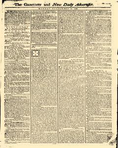 Gazetteer And New Daily Advertiser, September 22, 1766, Page 1
