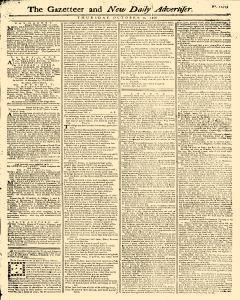 Gazetteer And New Daily Advertiser, October 02, 1766, Page 1