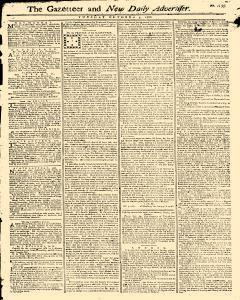 Gazetteer And New Daily Advertiser newspaper archives