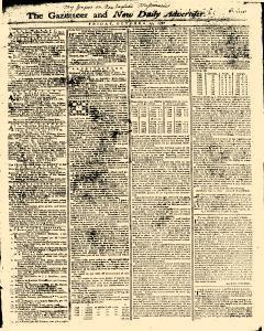 Gazetteer And New Daily Advertiser, October 17, 1766, Page 1
