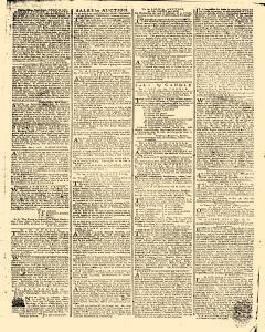 Gazetteer and New Daily Advertiser, October 20, 1766, Page 3