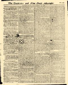 Gazetteer And New Daily Advertiser, October 23, 1766, Page 1