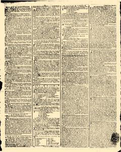 Gazetteer and New Daily Advertiser, October 30, 1766, Page 3