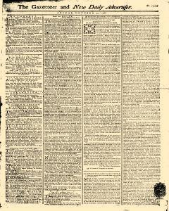 Gazetteer And New Daily Advertiser, October 31, 1766, Page 1