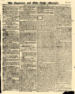 Gazetteer And New Daily Advertiser, December 02, 1766, Page 1