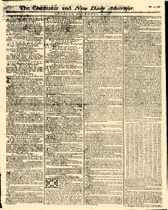 Gazetteer And New Daily Advertiser, December 16, 1766, Page 1