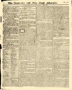 Gazetteer And New Daily Advertiser, December 30, 1766, Page 1