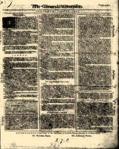 General Advertiser, January 04, 1745, Page 1