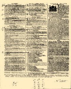 General Advertiser, January 07, 1745, Page 4
