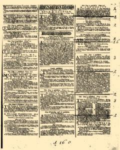 General Advertiser, January 18, 1745, Page 3